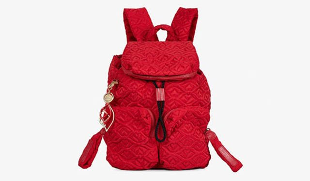 <strong>Christmas Collection 2016</strong><br /> 【lipstick】「BISOU TEXTILE」SMALL BACKPACK 3万7000円 (H36×W30×D10)