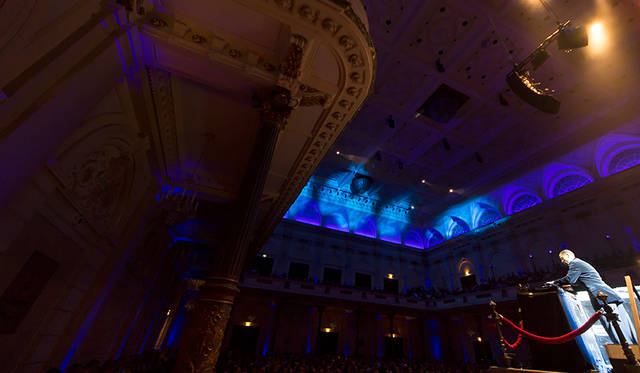 Jeff Mills: The Planets at Amsterdam's Concertgebouw. 「Robeco SummerNights 2016」(2016.8.30) © De Fotomeisjes