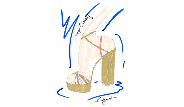 <strong>Very Claire Sandal Plateau</strong><br /> デザイン|Claire Distenfeld<br /> 価格|7万9500円、9万5000円(税抜 ・参考価格) <br /> ※日本円は換算日レートにより価格が異なります。 <br /> カラー|2色<br />
