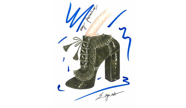 <strong>Very Pascaline Bootie</strong><br /> デザイン|Pascaline Smets <br /> 価格|9万9500円(税抜 ・参考価格) <br /> ※日本円は換算日レートにより価格が異なります <br /> カラー|2色