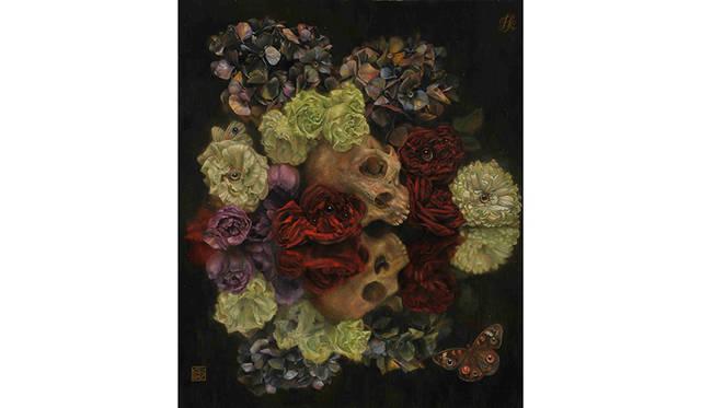 「花虫達 all the flowers and insects」(2014年制作)