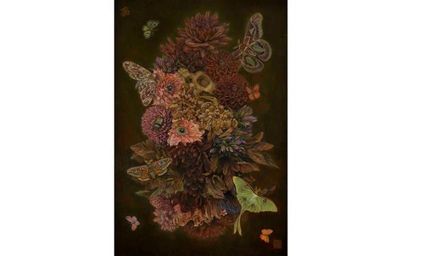 「花虫達 all the flowers and insects」(2015〜'16年制作)