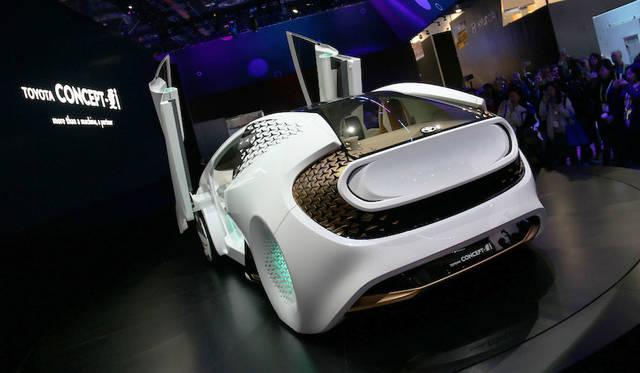 トヨタConcept愛i。デザインはカリフォルニアのデザイン拠点「キャルティ」が担当した