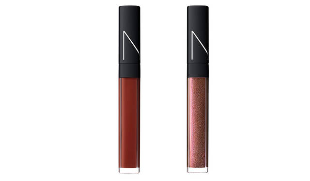 <strong>NARS リップグロスN</strong><br /> 【新⾊1⾊・限定1⾊】<br /> 価格|各3348円<br />
