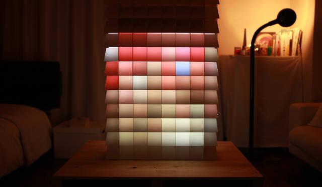 光と影の存在を認識することができる構造体<br> 作品名|PIXEL<br> 受賞者|吉添 裕人/日本<br> メンター|スナーキテクチャー