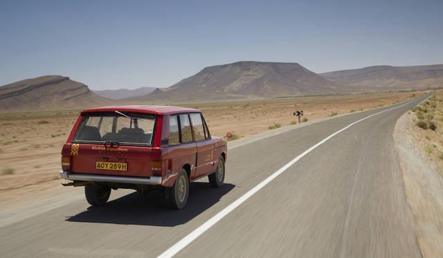 新型モデルの名前の元は、初代レンジローバーのプロトタイプとして開発された「ヴェラール」