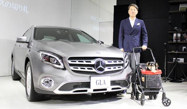 メルセデス・ベンツ日本代表取締役社長兼CEOの上野金太郎氏