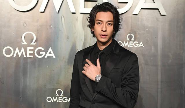 LOST IN SPACEに出席した俳優の三浦翔平さん。