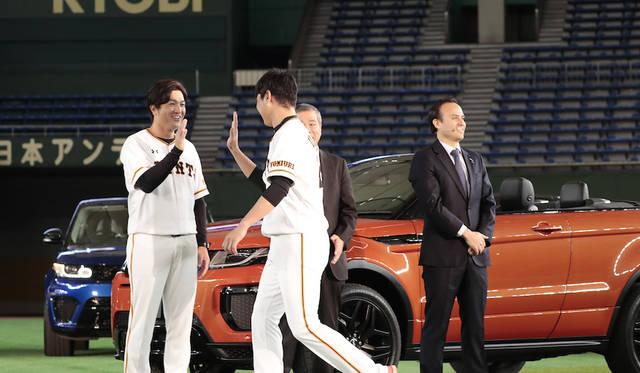 ジャガー・ランドローバー・ジャパンは、3月24日に読売巨人軍のオフィシャルカー契約を締結している