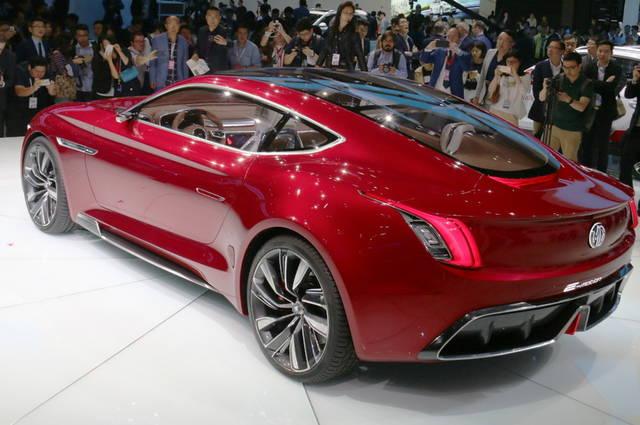 MG e-Motion Concept|MG  e-モーション・コンセプト<br> 往年の英国車ブランド「MG」を今日所有する上海汽車が提案するスーパースポーツEV。同社は、欧州大陸への本格進出を計画中。