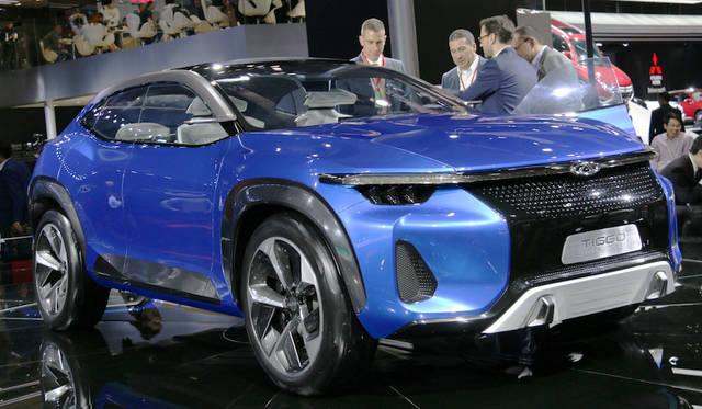 Chery Tiggo Coupe concept|奇瑞 瑞虎クーペ コンセプト<br> 奇瑞(チェリー)ティゴー スポーツクーペ コンセプト。