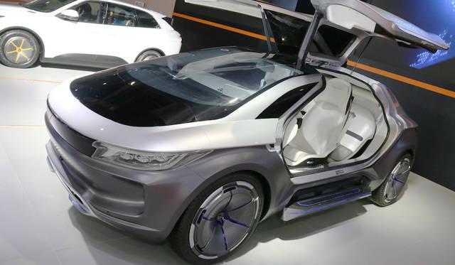 Zhiche concept|奇点 コンセプト<br> 奇点汽車が公開した概念(コンセプトカー)
