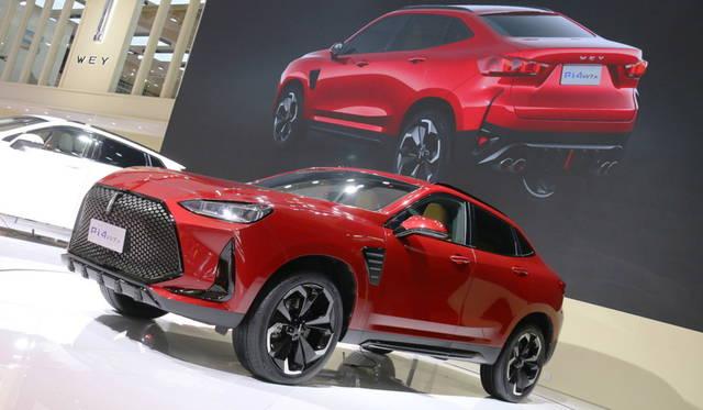 <strong>WEY Pi4 VV7x</strong><br> 長城汽車は新ラクシュリー・ブランド「WEY」によるコンセプトカー「Pi4 VV7x」。なお、同ブランドのデザインダイレクターには、元BMWのピエール・ルクレールが就任している。