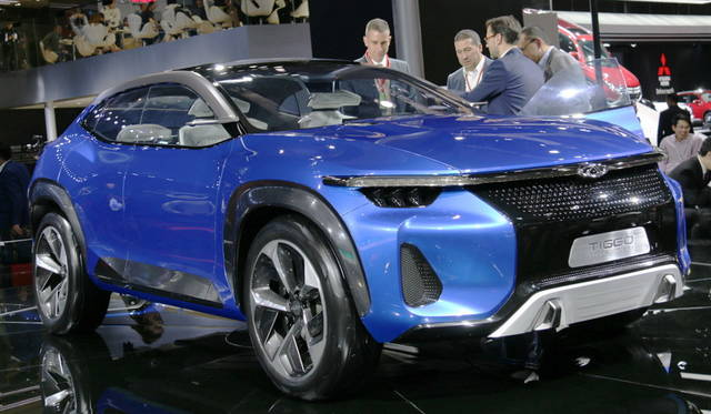 <strong>Chery Tiggo Coupe concept|奇瑞 瑞虎クーペ コンセプト</strong><br> 奇瑞(チェリー)ティゴー スポーツクーペ コンセプト。