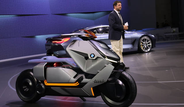 BMW Motorrad Concept Link|BMWモトラッド コンセプト リンク