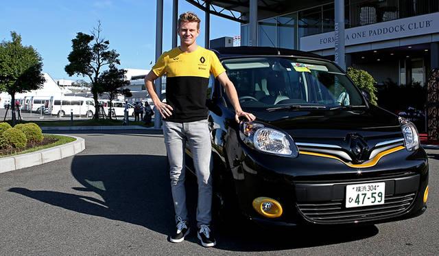 ルノーF1チームのドライバー、ニコ・ヒュルケンベルグ