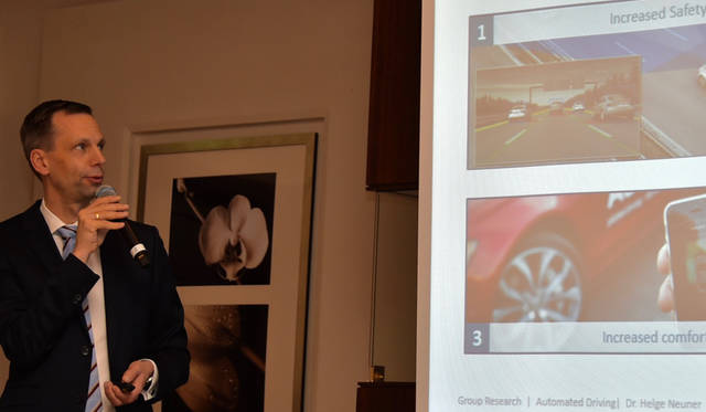 自動運転研究部門責任者  ヘルゲ・ノイナー博士