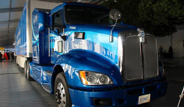 Toyota Heavy Duty hydrogen fuel cell class 8 truck