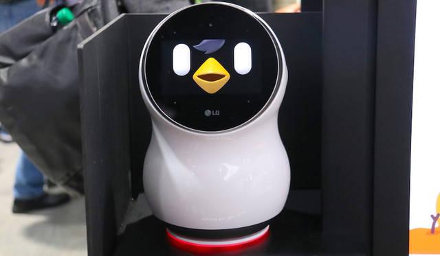 LG CLOi robotic assistant