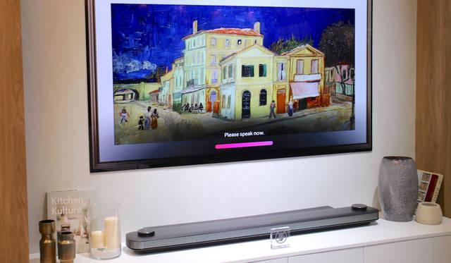 LG SIGNATURE OLED TV W8 with ThinQ / α (Alpha) 9 Processor