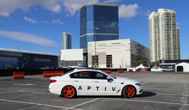 Aptiv × Lyft : Self-Driving BMW