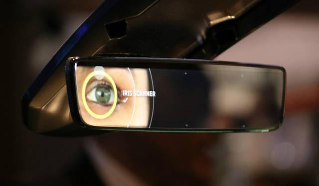 GENTEX Iris identification system