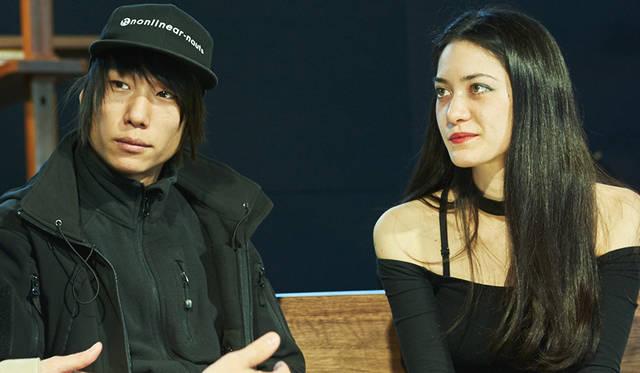 アートユニット「Nonotak」の2人。ミュージシャンのTakami Nakamoto(左)とイラストレーターのNoemi Schipfer