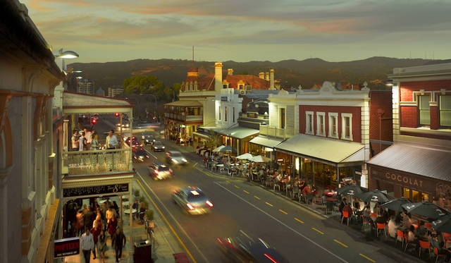 Rundle Street, Adelaide, SA<br>©  South Australian Tourism Commission