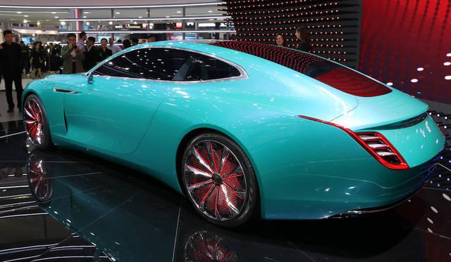 Hongqi E-Jing GT Concept