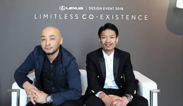 「CO-」をつくりあげたdNA主宰の市川創太氏(左)と、今回のプロジェクトに参画した都市研究室hclabの新井宗俊氏