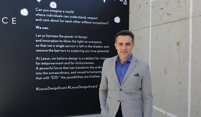 LEXUS DESIGN AWARDでは司会も務めたLexus Internationalでブランドマネージングとマーケティングのグローバルヘッドのスピロス・フォティノス氏