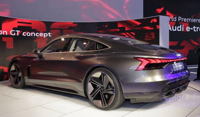 Audi e-tron GT Concept|アウディ e-tron GTコンセプト