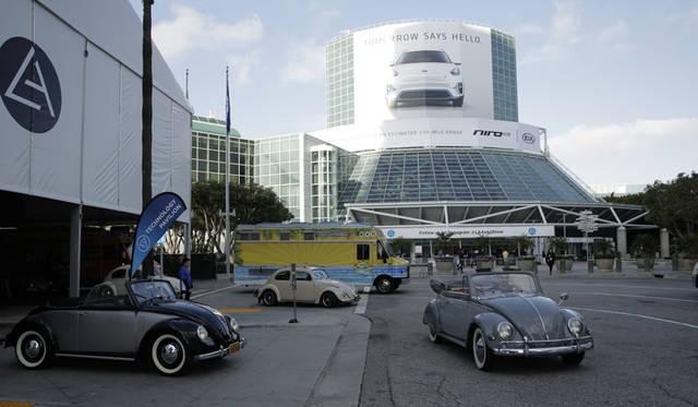 アメリカの専門誌「hot VWs」が主催した「ビートルズ ブレックファスト」というミーティングのひとコマ