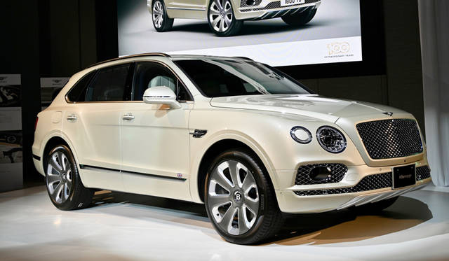 Bentley Bentayga A Limited Edition by Mulliner exclusively for Japan<br> ベントレー ベンティガ A Limited Edition by Mulliner exclusively for Japan