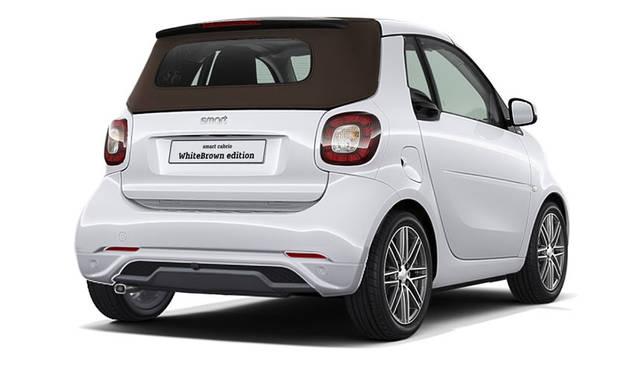 Smart cabrio WhiteBrown edition|スマートカブリオ ホワイトブラウン エディション