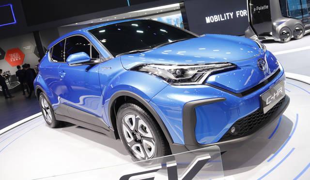 Toyota CH-R electric