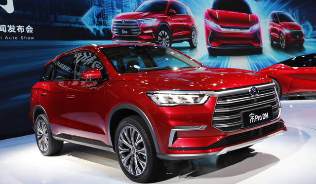 BYD Song Pro DM
