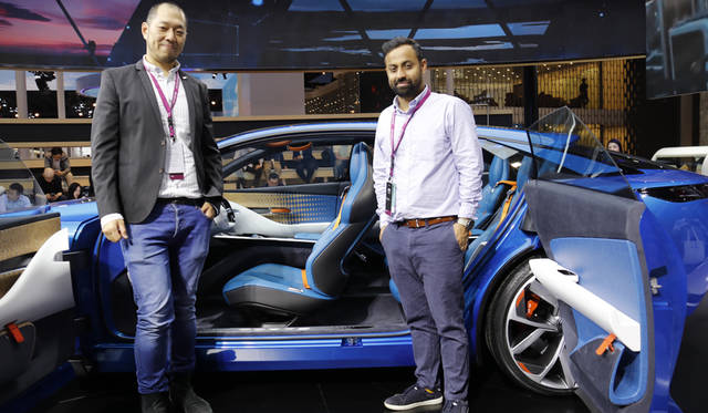 Yung-Cheng Huang(exterior principal designer: left)& Aditya Mahajan(Interior designer: right), Quoros