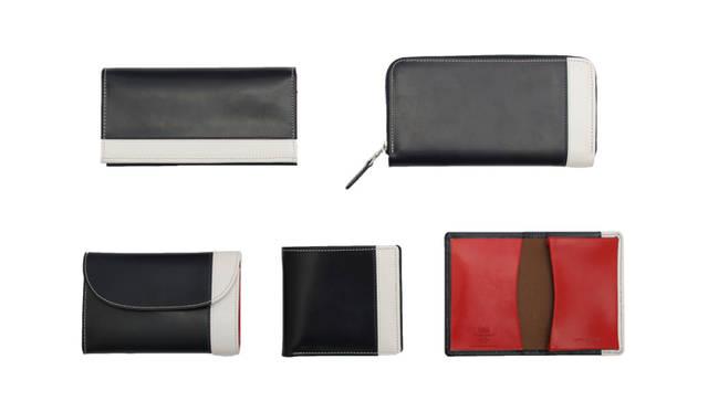 先行発売されるユナイテッドアローズ別注のアイテム。ブライドルレザーを使った財布とカードケースが登場