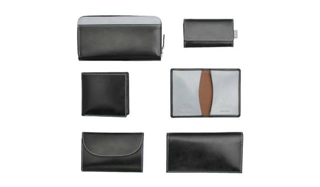 銀座店限定のホワイトハウスコックスのスペシャルアイテム。ブライドルレザーを使った財布、キーケース、カードケースを展開