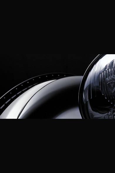 ブカッティ タイプ57 SC アトランティック・クーペの美しいフォルム。