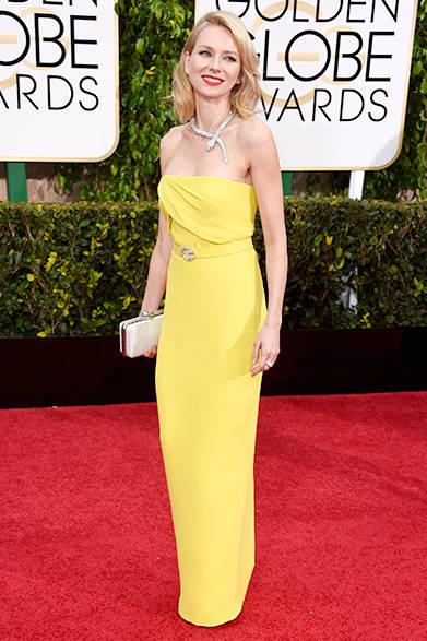 <strong> Naomi Watts|ナオミ・ワッツ</strong><br><br>ブルガリの「セルペンティ」ネックレスが圧巻のナオミ・ワッツ。<br><br>Frazer Harrison/Getty Images