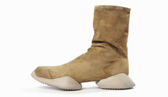 adidas by Rick Owens Autumn/Winter 2015-16「Rick Owens Runner Ankle Stretch Boot」