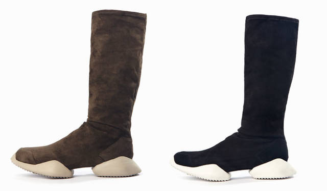 adidas by Rick Owens Autumn/Winter 2015-16「Rick Owens Runner Stretch Boot」