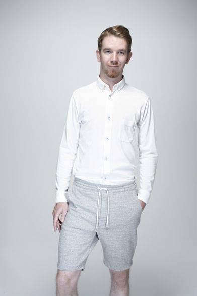 ロングスリーブ BDシャツ1万6200円、ショーツ1万9980円