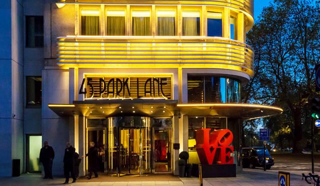 45 Park Lane|45パークレーン<br> ロンドンの中心地、メイフェアに建つ、いまロンドンでもっとも話題の未来型ホテル