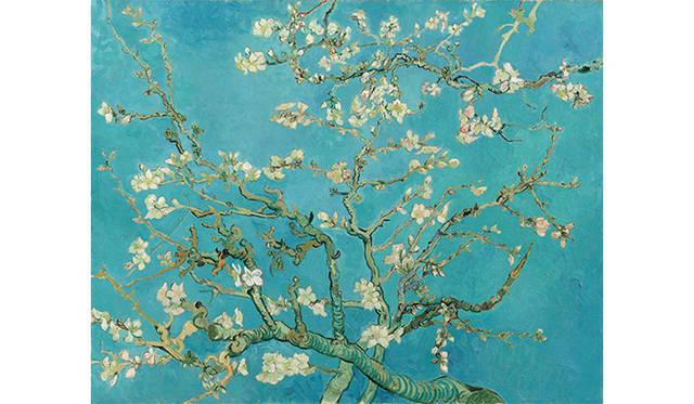 『花咲くアーモンド(Almond Blossom)』 1890 oil on canvas, 73.3 cm x 92.4 cm Van Gogh Museum, Amsterdam (Vincent van Gogh Foundation)