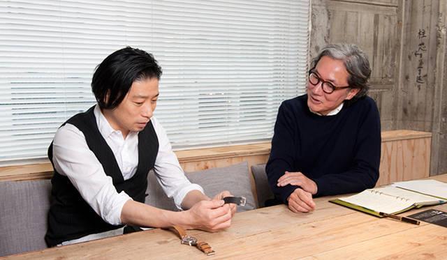 谷尻氏は、このラナを見てモダンなデザインにもかかわらず、アナログ感が伝わってくると話す