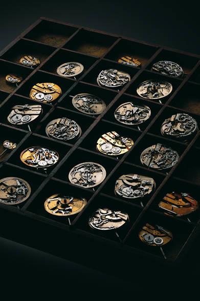 これまでの長い歴史の中で1,000種類以上のキャリバーを製作し、300以上の特許を取得