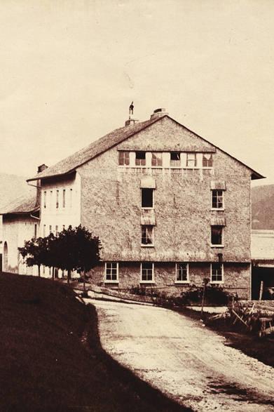 スイス・ジュウ渓谷に建つ、ジャガー・ルクルトの最初の社屋(1833年)